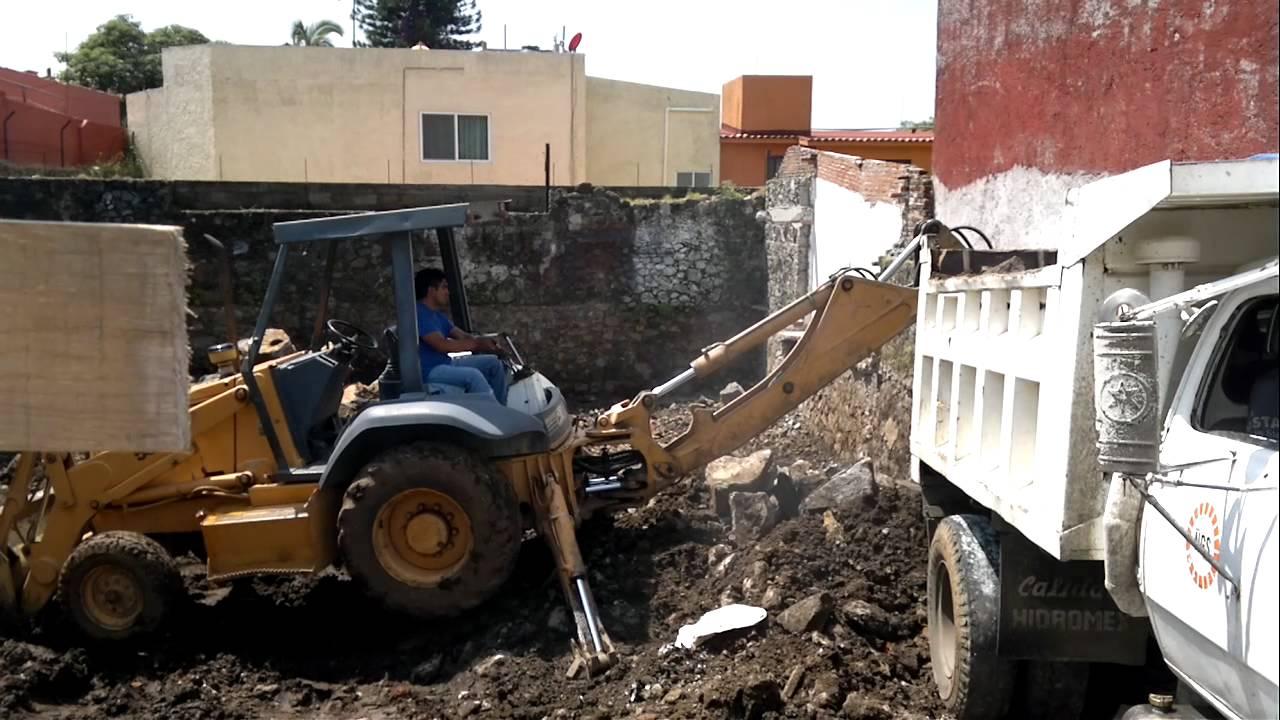 Carga de escombros