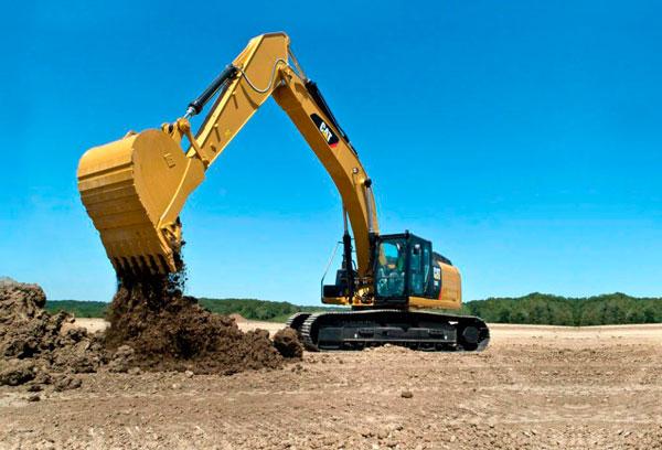 retroexcavadoras para el movimiento de tierras