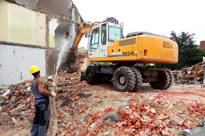 demolición y derribo