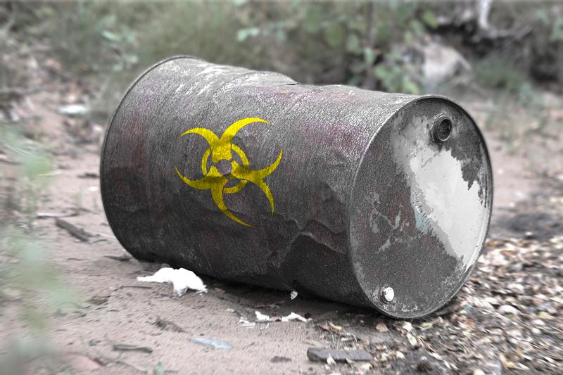 residuos tóxicos tras una demolición