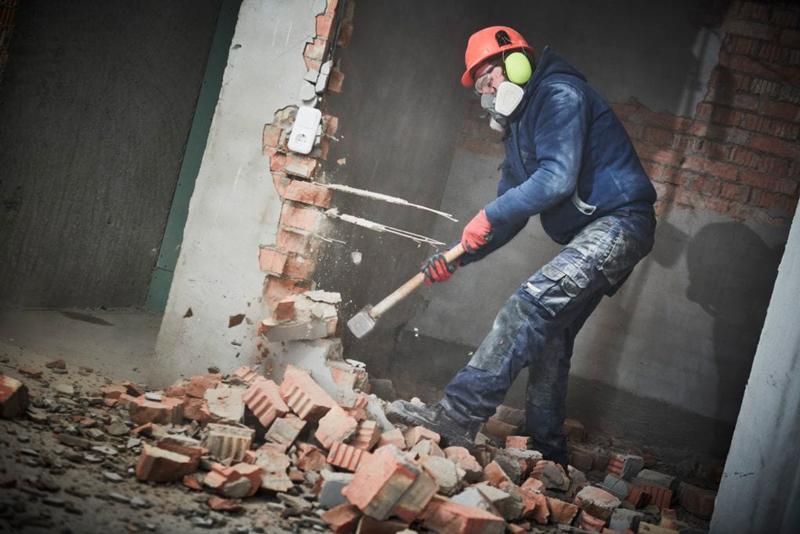 herramientas para realizar una demolición
