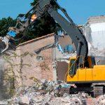 riesgos en derribos en Madrid