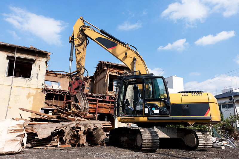 Tecnología necesaria para realizar una demolición