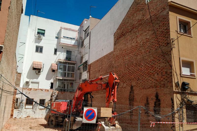 proyecto de demolición en Madrid