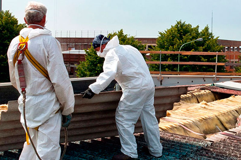 Empresa autorizada para la retirada del amianto