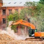demolición por explosión controlada